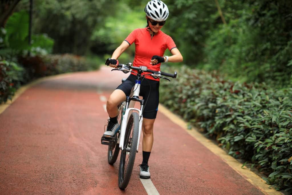 Radfahrer Sportuhr GPS