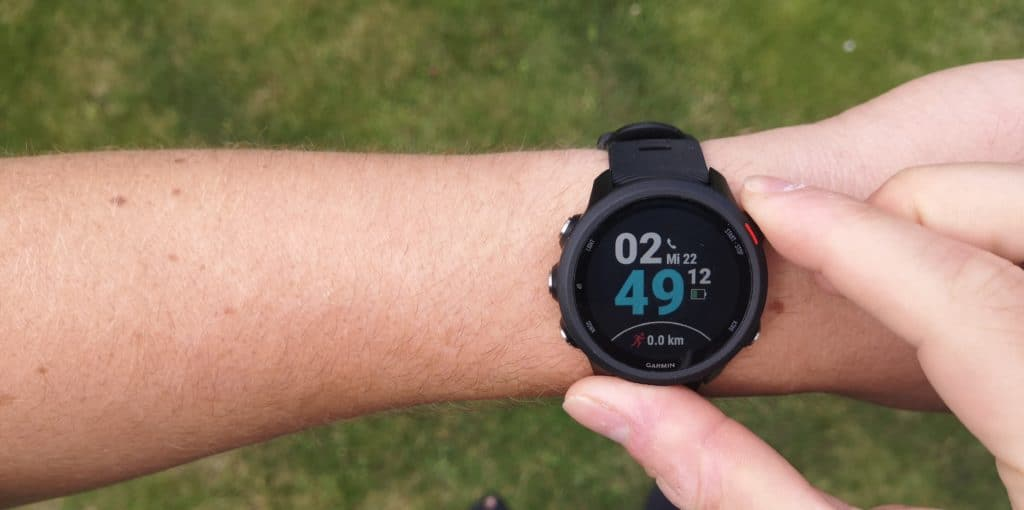 Garmin Forerunner 245 Music Bedienung