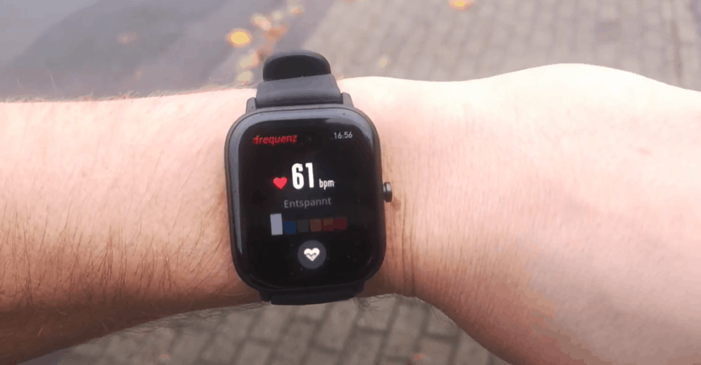 Huami Amazfit GTS Pulsmessung