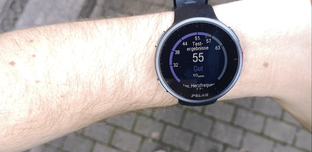 Polar Vantage V Display